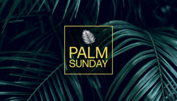 Palm Sunday Social Copy